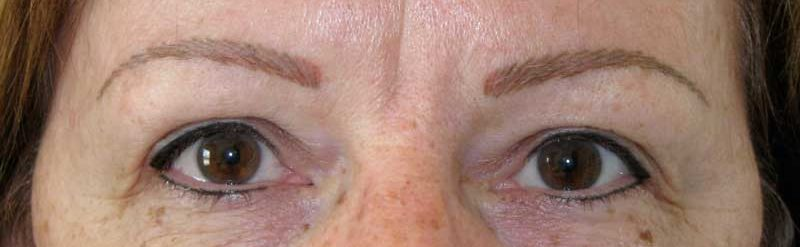 permanent eyebrows, permanent eyeliner